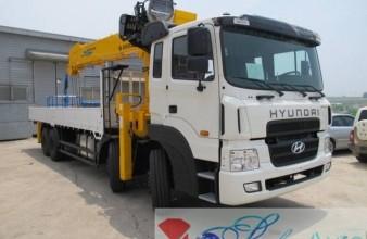 Hyundai HD 320 , 2014 год с КМУ Soosan SCS 1616.