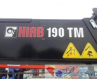 Hyundai HD 170 , 2014 год с КМУ HIAB 190.