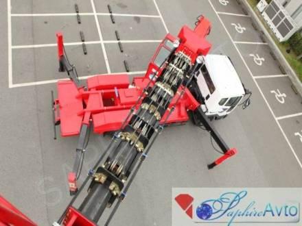Автовышка 46 метров Novas 700Q на базе Daewoo Novus