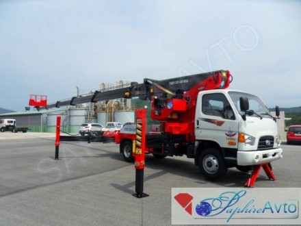 Автовышка 30 метров Novas 350 QLна базе Hyundai HD78 3.5t