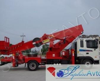 Автовышка 45 метров HANSIN HS4570 на базе Daewoo Novus