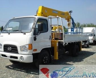 Hyundai HD 78 , 2014 год c КМУ Soosan SCS335