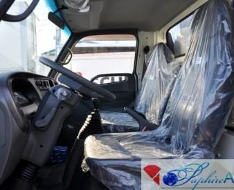 Hyundai HD 78 , 2014 год . Промтоварный фургон .