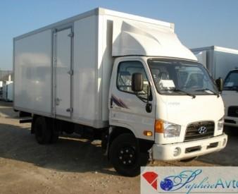 Hyundai HD 78 , 2014 год . Изотермический фургон .