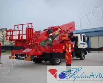 Автовышка 40 метров HANSIN HS4070 на базе Hyundai HD120
