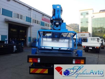 Автовышка 28 метров DASAN DS280L на базе Hyundai HD 78 2015 года