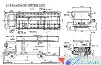 Hyundai HD 78 , 2014 год . Автовоз