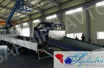 Daewoo Novus ,15 тн, 2014 год. Эвакуатор с КМУ DongYang SS1926 .