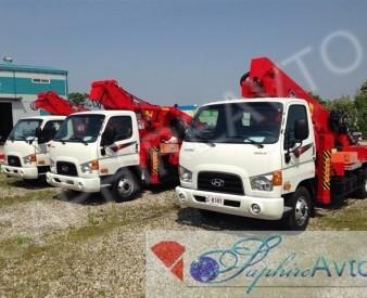 Автовышка 32 метра JINWOO320 на базе Hyundai HD78