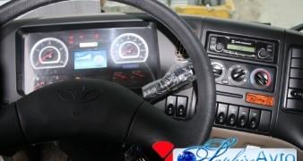 Daewoo Novus , 2014 год c КМУ Soosan SCS 335.