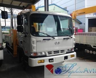 Hyundai HD 120 , 2014 год с КМУ Soosan SCS514SL.