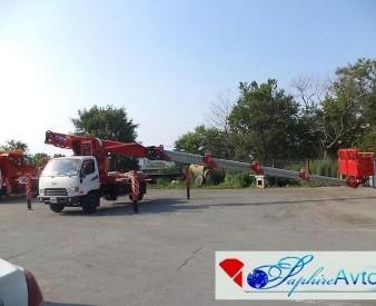Аренда автовышки HORYONG SKY 280 на базе Hyundai HD78 (28  м .)