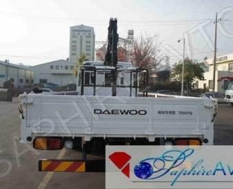 Daewoo Novus , 2014 год c КМУ Horyong HRS156