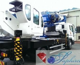 Аренда автовышки HORYONG SKY 400KR на базе Daewoo Novus (40 м .)
