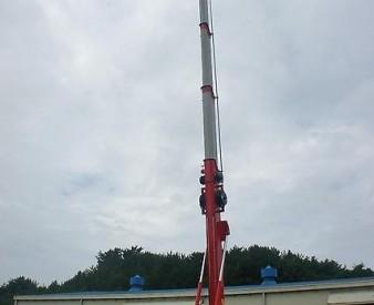 Аренда автовышки HORYONG SKY 450SF на базе Daewoo Novus (45  м .)