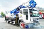 Автовышка 40 метров HORYONG SKY 400KR на базе Daewoo Novus