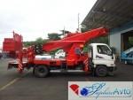 Автовышка 28 метров HORYONG SKY 280 на базе Hyundai HD78
