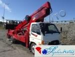 Автовышка 24 метра Horyong SKY 240, 2013г на базе Hyundai HD78